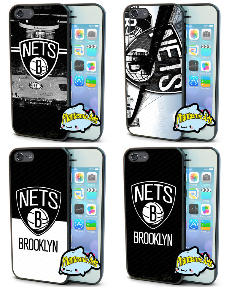 Hot Team Brooklyn Nets Case For IPhone4s 5s 5c 6/6plus SamsungS3 S4 S5 S6/edge Mini Note 2 3 4 Ipod 5 for LG2 3 HTC M7 8 One PC(China (Mainland))
