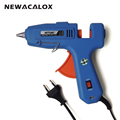 60W 100W EU Plug Hot Melt Glue Gun with Free 1pc 11mm Stick Heat Temperature Tool