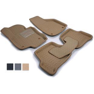 Skoda octavia car waterproof slip-resistant eco-friendly car mats<br><br>Aliexpress
