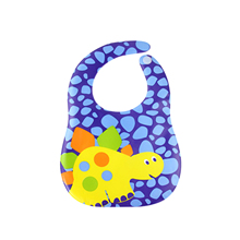 Colorful Cartoon Cute Car Animal EVA Baby Bibs Waterproof Safety Environmental Infant Burp Cloths Feeding Baby