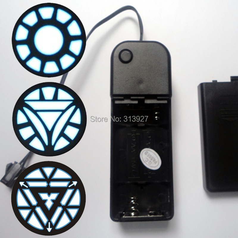LED EL Light Panel EL Backlight Drive 3V Battery Pack Flashing Equalizer T-shirt Panel EL Led T-shirt Panel Accessories(China (Mainland))