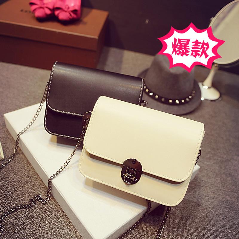 Women's handbag 2015 season chain bales mini woman parcel Courier inclined shoulder bag(China (Mainland))