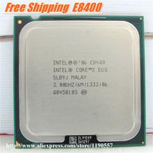 Original intel cpu Core 2 Duo E8400 Processor (3.0Ghz/ 6M /1333MHz) Dual-Core Socket 775 tested100%working + Free Shipping(China (Mainland))