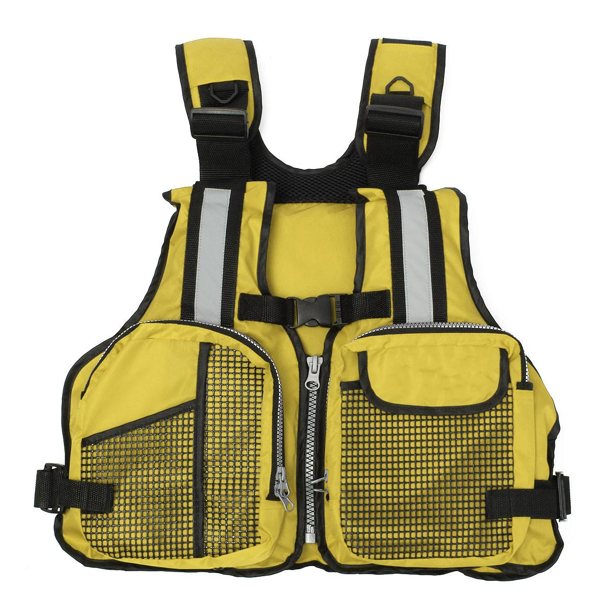 Adjustable 3 Colors Fly Fishing Vest Outdoor Waterpoor Safety Life Jacket Life Vest Fishing Clothes In Water Sports Swim(China (Mainland))