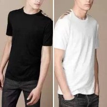 2015 New Summer Brand Cotton 100% Slim Tee T-Shirts Men Cloth Tees Tops Male Casual Sport Short Sleeve S—XXL 7 Color Hot Sale