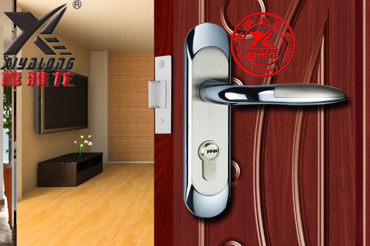 [Xi Ya Hardware] zinc alloy single tongue lock professional production of special thick panel door lock zinc alloy wholesale<br><br>Aliexpress