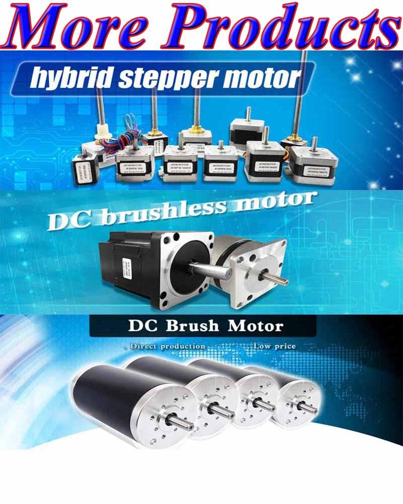 Nema23 high torque high power 57mm 2phase hybrid for High power stepper motor