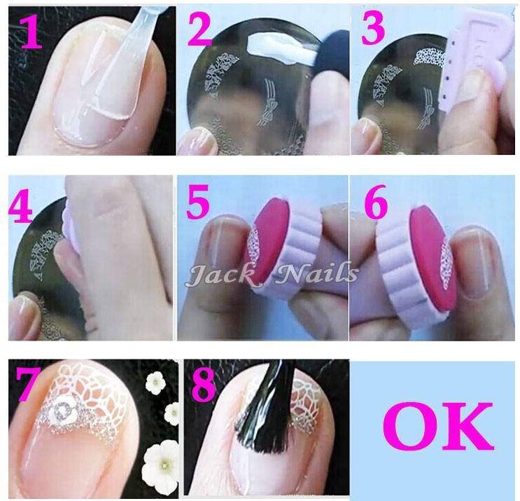 Как сделать печать для ногтей