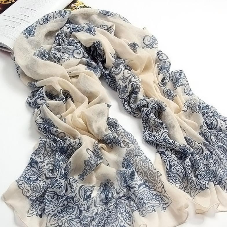 New Fashion autumn summer ice silk Scarf women winter warm Tassel Scarf Wrap Shawl scarves Lovers