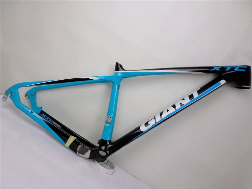 """2014 THE NEW Carbon fiber bicycle MTB FRAME GIANT XTC SL 29"""" *15/17 CARBON FRAMESET CARBON FRAME EMS free shipping(China (Mainland))"""