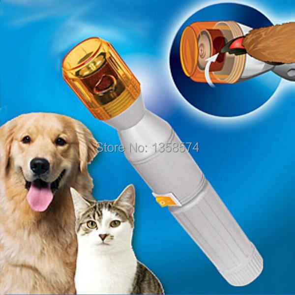 Novel Electric Nail Clipper Trimmer File Kit for Puppy Pet Dog Cat TV Porducts u1MvL(China (Mainland))
