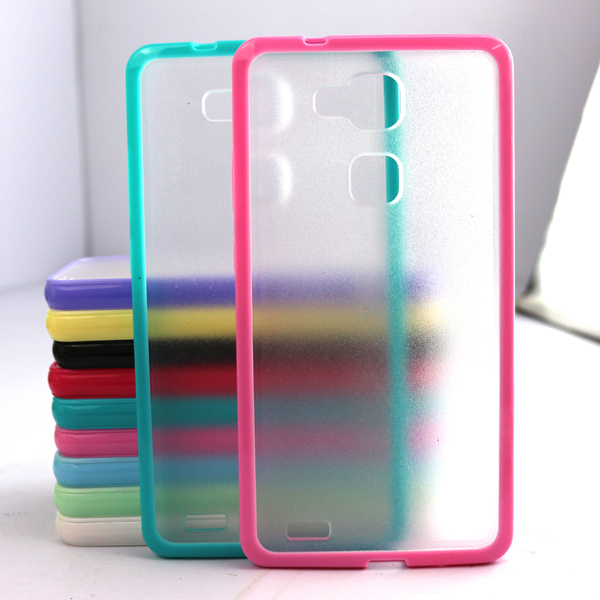 Top Selling Mobile Phone Case Cover for Huawei Mate 7 TPU Candy Color Back Case Cheap Covers Hot New Products for 2015(China (Mainland))