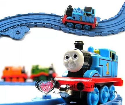 Original brand metal 1Thomx train+10tracks/set toys metal with magnets car toy Thomx with his friends kids toys boy gift best(China (Mainland))