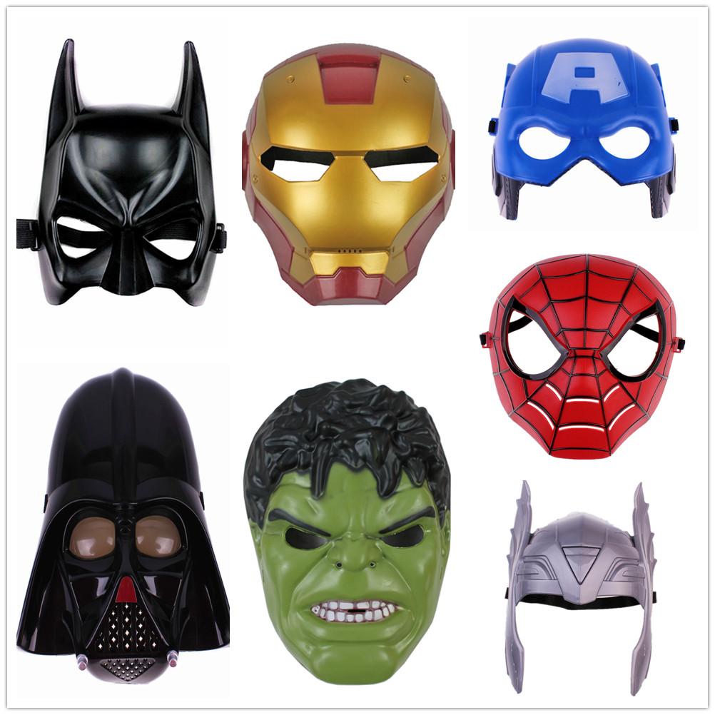 Как сделать маски из бумаги супергероев