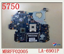 Для Gateway NV57H 5750 5750 G материнская плата LA-6901P 100% рабочий идеально