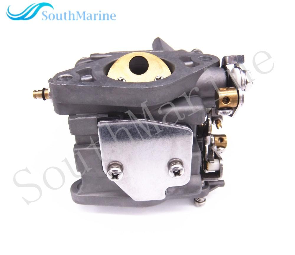 Sell boat motor 66m 14301 12 carburetor for yamaha 4 for 15 hp electric boat motor