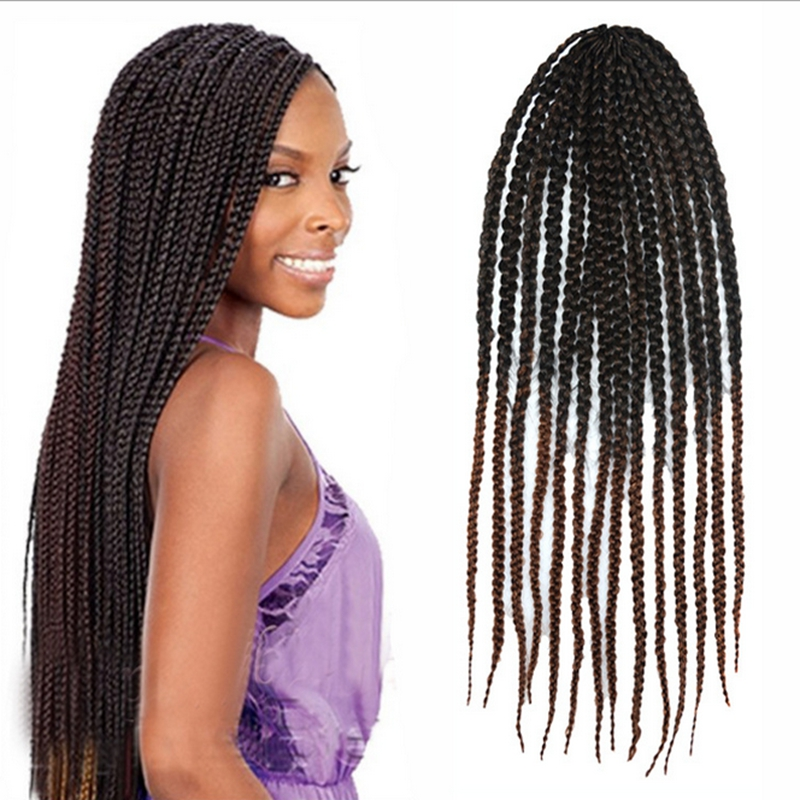 twist crochet braids hair afro kinky twist braiding jumbo crochet ...