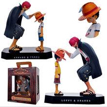 Ichiban Kuji Hot Japan Anime Comic One Piece Yellow Luffy red hair Akakami no Shankusu Shanks Boxed Action Figures Collectibles