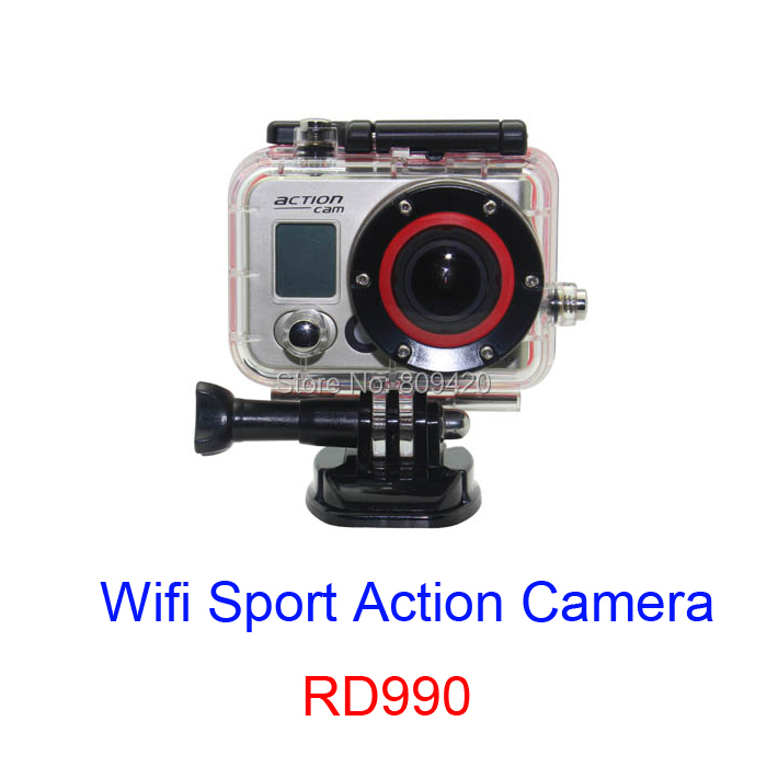RD990 Ambarella A5+5100 12MP FHD 1080P Waterproof 60m Wifi Sport Camera Action DVR Time-Lapse Helmet Gopro Style - JST-Shop store