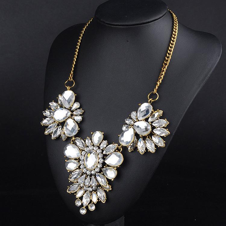 New Design High Quality Jewelry Fashion Luxury Vintage Style Jewellery Choker Statement Necklace& Pendants Free Shipping FHA0304(China (Mainland))