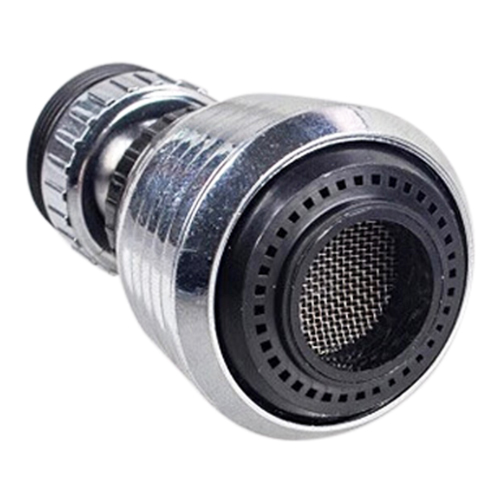 360 Rotate Swivel Faucet Nozzle Silver and black