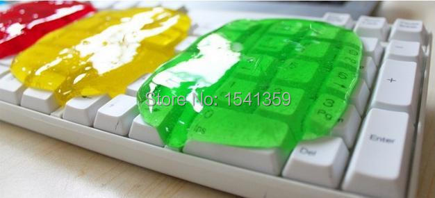 2015 New Magic Dust Cleaning Compound Super Clean Slimy Gel Wiper For Keyboard Laptop Universal Clean Computer Cleaners S102(China (Mainland))