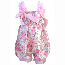 SCYL Baby girls Ruffle Flower Rompers cute summer overalls for newborns Baby One-Piece floral Lace baby clothes months