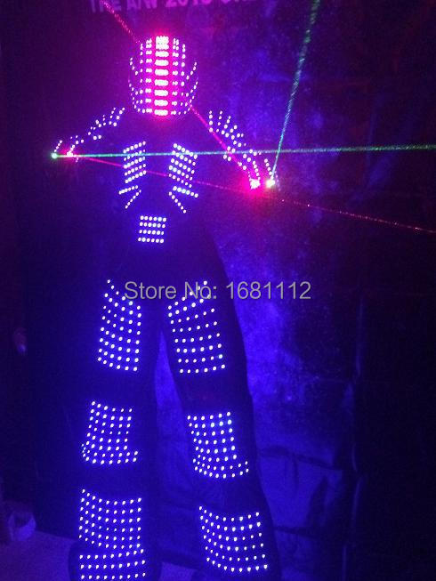 LED Costume / LED Clothing / Light suits / LED Robot suits / robot / led lights costumes(China (Mainland))