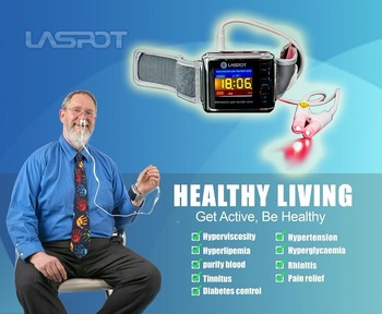 Black Friday hot sale Therapy equipment soft laser watch home use health care best gift for Christmas