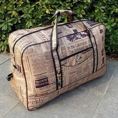 2015 Fashion Men Travel Bags Large Capacity Women Luggage Travel Duffle Bags Nylon Outdoor Hiking Sports Bags Of Trip Waterproof(China (Mainland))