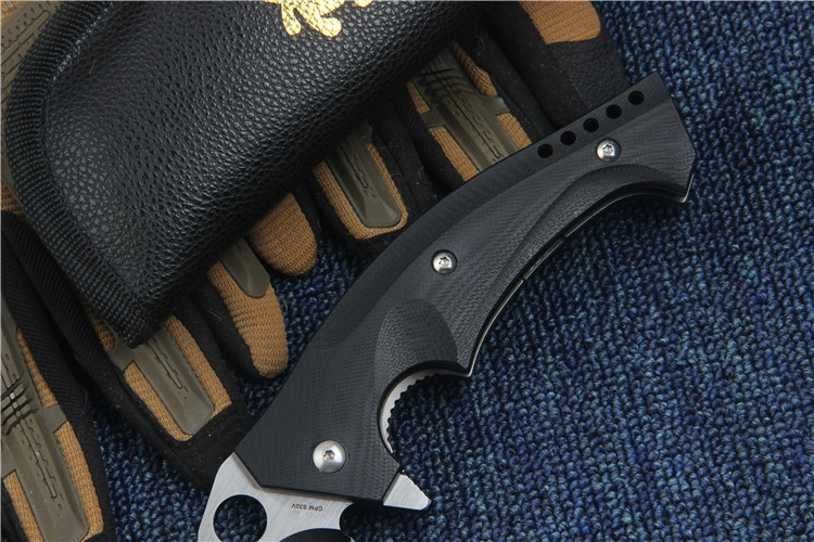 Buy KESIWO folding knife C196CFTIP S30V blade outdoor tactical knife G10 handle EDC Flipper pocket knife high quality hand tool cheap