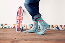 New caramella Banana Elk hit Color Socks for Couple happy socks Harajuku Street Tide Casual cotton