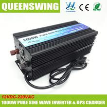 Queenswing DC12V к AC220V 1000 W инвертор синусоидальной волна с зарядное устройство ( QW-P1000UPS )
