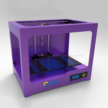 2016 Upgraded High Quality 3d printer kit with dual extruder color printing large metal 3d wax