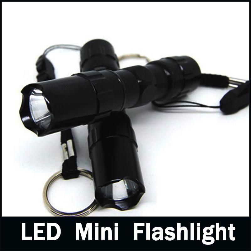 Waterproof Mini LED Flashlight Lantern Led Torch Flashlight Light Lamp Portable for Camping Hiking Outdoor(China (Mainland))