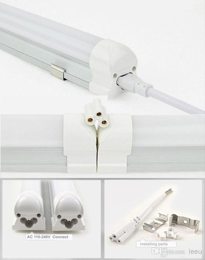 LED-Röhre 150cm mit integriertem Lampengehäuse