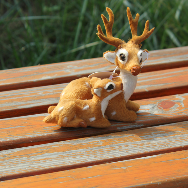 Pakistani promotional life size plastic deer home decoration pieces(China (Mainland))