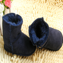2015 New baby boots wool Baby Shoes Girls Cotton Soft Sole Skid-proof Cute Kids Toddler Shoes First Walkers Fit 0-12 Months(China (Mainland))