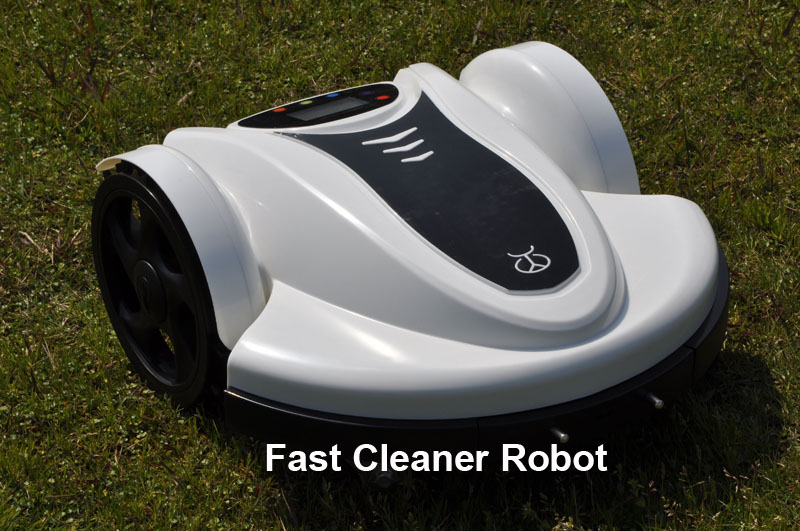 (Free to Europe)Robotic Auto Lawn Mower(Lead-acid Battery) With Password,Time Setting, Language and Subarea Setting Function(China (Mainland))