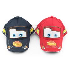 Pixar Cars Baseball Caps hat Mini PVC Action Figure Model Toys Dolls Classic Toys 3-6years Free Shipping (China (Mainland))