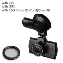Car DVR Camera DVRs A7810G Pro Ambarella A7LA70 A7 1296P Night Vision Camcorder LDWS Video Recorder With GPS Tracker Speedcam(China (Mainland))