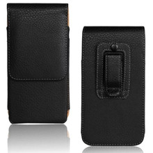 10PCS Luxury Waist Holder Belt Clip Vertical Cellphone Pouch PU Leather Case for Jiayu F2 S1 S2 Businessman's Phone Bags Free
