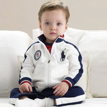 Infant Baby Boy Clothing Brand Autumn Infants Clothes Boys Sport Suit For Baby Boys Set