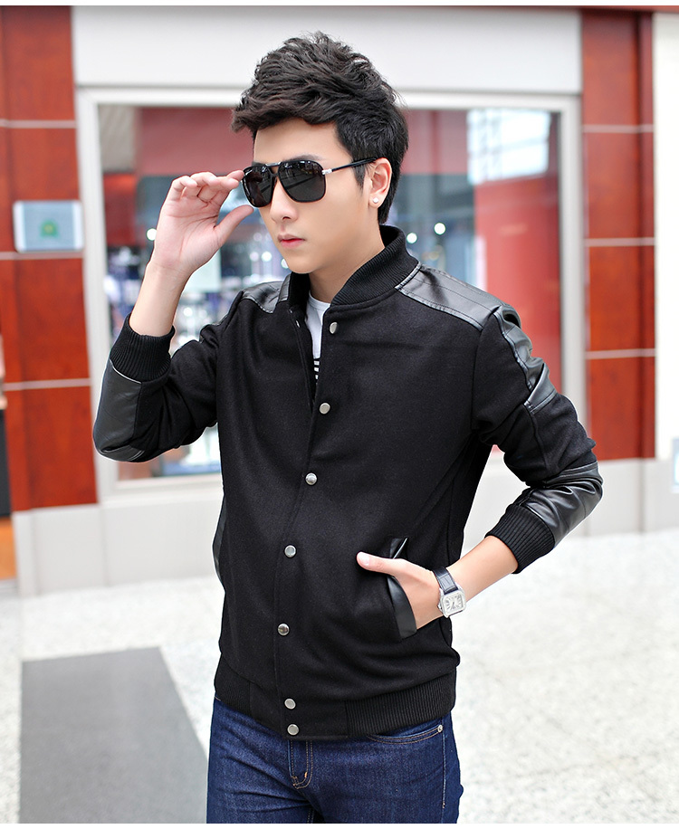 2014 New style fashion spring/autumn men's thin jackets coats casual size M-5XL - Prosperous E-Business store