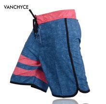 Pantalones cortos de verano VANCHYCE para hombre, pantalones cortos de marca, traje de baño, pantalones cortos de playa para hombre, Bermuda, cortos de secado rápido, Plata para hombre(China)