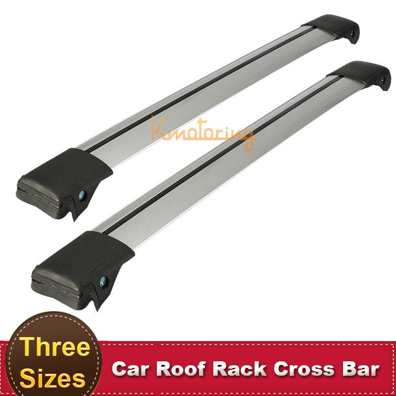 Auto Car Offroad Roof Rack Cross Bar with Lock Anti-theft SUV 4X4 Top 150LBS 68KG Aluminum Cargo Luggage Carrier(China (Mainland))