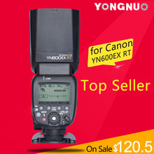 YONGNUO YN600EX-RT 2.4G Wireless HSS 1/8000s Master Flash Speedlite for Canon Camera as 600EX-RT YN600EX RT(China (Mainland))