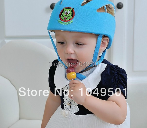 baby infant protective hat crashproof bump Anti- Shock safety cap playing toddler cap baby Helmet Toddler for learning walk(China (Mainland))