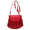 Women handbags Famous brand designer genuine leather handbags feminine messenger bag Ladies tassel dumpling Shoulder bag