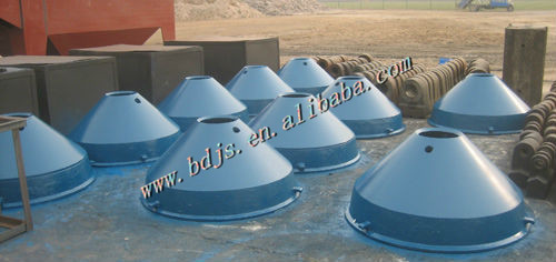 metso mantle of metso hp500 cone crusher parts mineral machinery backenbrecher(China (Mainland))